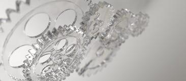 Engranaje de Glas Imagen de archivo libre de regalías