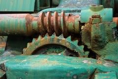 Engranaje de gusano Foto de archivo libre de regalías