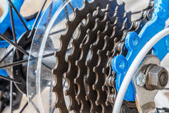 Engranaje de la bici Fotos de archivo