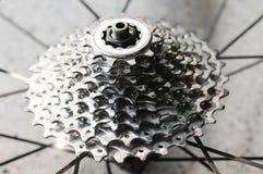 Engranaje de la bicicleta Fotos de archivo libres de regalías