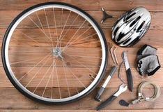 Engranaje de la bicicleta Foto de archivo libre de regalías