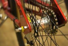 Engranaje de la bicicleta y fork trasera Foto de archivo
