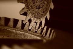 Engranaje de la compuerta Fotografía de archivo