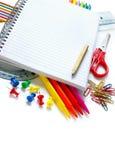 Engranaje de la escuela Foto de archivo libre de regalías