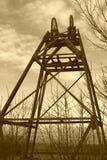 Engranaje de la explotación minera Fotos de archivo