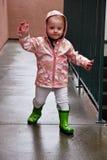 Engranaje de la lluvia Imagen de archivo libre de regalías