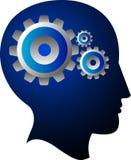Engranaje de la mente Fotografía de archivo libre de regalías