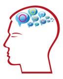 Engranaje de la mente Imagen de archivo libre de regalías