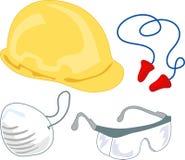 Engranaje de la seguridad: PPE 1 Imágenes de archivo libres de regalías