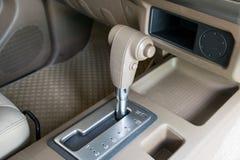 Engranaje de transmisión automática del coche Fotografía de archivo