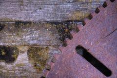 Engranaje del hierro Foto de archivo