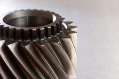 Engranaje del metal Fotografía de archivo
