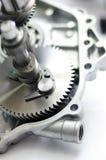 Engranaje del recambio del motor Imagen de archivo libre de regalías