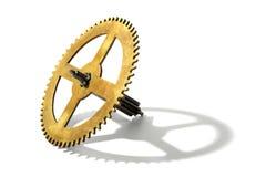 Engranaje del reloj fotografía de archivo