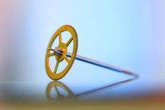 Engranaje del reloj Imagen de archivo libre de regalías