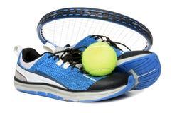 Engranaje del tenis Fotografía de archivo