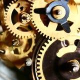 Engranaje del tiempo foto de archivo