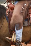 Engranaje del vaquero Imagen de archivo