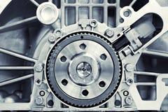 Engranaje en un motor Fotografía de archivo libre de regalías