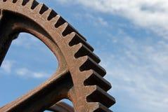 Engranaje industrial viejo Fotografía de archivo libre de regalías