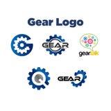 Engranaje Logo Template Foto de archivo libre de regalías