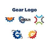 Engranaje Logo Template Fotografía de archivo libre de regalías