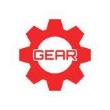 Engranaje Logo Template Foto de archivo