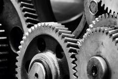 Engranaje-maquinaria Imagen de archivo libre de regalías