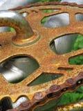Engranaje oxidado Fotografía de archivo libre de regalías