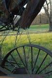 Engranaje oxidado del campo Fotos de archivo