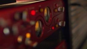 Engranaje profesional de la producción de la música metrajes