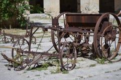 Engranaje viejo de la agricultura Foto de archivo libre de regalías