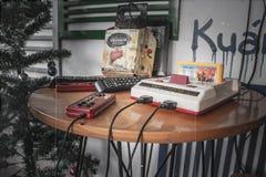 Engranaje viejo del juego foto de archivo