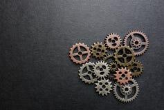 Engranajes clasificados del metal Imagenes de archivo