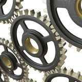 Engranajes cooperativos Imagen de archivo