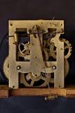 Engranajes de bronce Foto de archivo libre de regalías