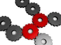 engranajes de conexión 3D Libre Illustration