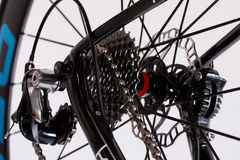 Engranajes de la bici foto de archivo libre de regalías