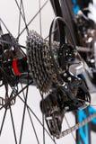 Engranajes de la bici imágenes de archivo libres de regalías