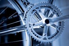 Engranajes de la bicicleta Imagen de archivo libre de regalías