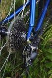 Engranajes de la bicicleta fotos de archivo