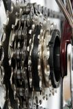 Engranajes de la bicicleta Imagenes de archivo