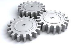 engranajes de la rueda 3d Imagen de archivo libre de regalías