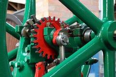 Engranajes de un viejo mecanismo Fotografía de archivo
