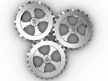 Engranajes del hierro ilustración del vector