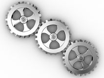 Engranajes del hierro Imagenes de archivo