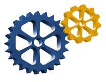 Engranajes del mecánico Foto de archivo