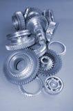 Engranajes del metal Foto de archivo libre de regalías