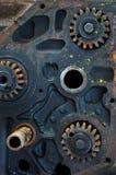 Engranajes del metal Imagen de archivo libre de regalías