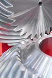 Engranajes del metal Foto de archivo